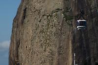 RIO DE JANEIRO, RJ, 19.04.2019 - TURISMO-RJ -   Vista panorâmica do bairro da Urca vista de cima do morro da Urca, onde fica do tradicional Bondinho do morro Pão de Açúcar, zona sul do Rio de Janeiro, 19 (Foto: Vanessa Ataliba/Brazil Photo Press/Folhapress)