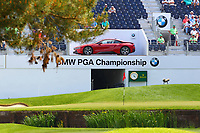 18th green during the BMW PGA Golf Championship at Wentworth Golf Course, Wentworth Drive, Virginia Water, England on 25 May 2017. Photo by Steve McCarthy/PRiME Media Images.
