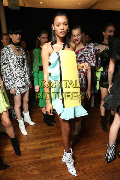 EMANUEL UNGARO<br /> Paris Fashion Week Spring Summer 2017<br /> on September 30, 2016<br /> CAP/GOL<br /> &copy;GOL/Capital Pictures