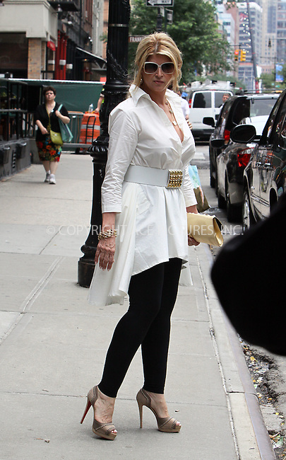 WWW.ACEPIXS.COM . . . . .  ....June 22 2011, New York City....Actress Kirstie Alley leaves a hotel in Tribeca on June 22 2011 in New York City....Please byline: CURTIS MEANS - ACE PICTURES.... *** ***..Ace Pictures, Inc:  ..Philip Vaughan (212) 243-8787 or (646) 679 0430..e-mail: info@acepixs.com..web: http://www.acepixs.com