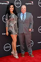 Israel Del Toro &amp; Carmen Del Toro at the 2018 ESPY Awards at the Microsoft Theatre LA Live, Los Angeles, USA 18 July 2018<br /> Picture: Paul Smith/Featureflash/SilverHub 0208 004 5359 sales@silverhubmedia.com