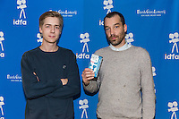 Amsterdam, november 2016, IDFA International Documentary Filmfestival Amsterdam. Premierewand IDFA in de Brakke Grond met: Moniker. Photo Nichon Glerum
