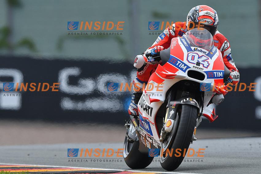 Sachsenring (Germania) 17-07-2015 - Moto GP / foto Luca Gambuti/Image Sport/Insidefoto<br /> nella foto: Andrea Dovizioso