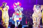 June 23, 2012, Chiba, Japan - Kyarypamyupamyu performs on stage during the MTV Video Music Awards Japan event. (Photo by Christopher Jue/AFLO)