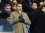 Manchester City chairman Kaldoon Al Mubarak  before the start of the premier league match at the Etihad Stadium, Manchester. Picture date 16th December 2017. Picture credit should read: Robin ParkerSportimage