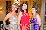 Pictured at Kerry Fashion Weekend awards held in the Carlton hotel, Tralee on Saturday evening, were l-r: Olivia Wall, Ann Drury Kahraman and Angela O'Sullivan.