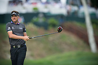 Ian Poulter follows his tee shot into the 12th during the opening round of the US PGA Championship at Valhalla (Photo: Anthony Powter) Picture: Anthony Powter / www.golffile.ie