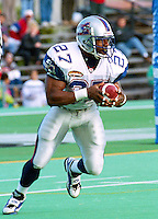 Mike Pringle Montreal Alouettes 1996. Photo John Bradley