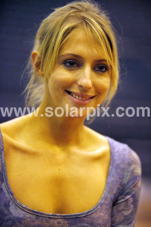 **ALL ROUND PICTURES FROM SOLARPIX.COM**.**WORLDWIDE SYNDICATION RIGHTS**.Stars from the Strictly come dancing tour at the LG Arena in Birmingham, UK. 21 January 2010..This pic: Ali Bastian..JOB REF: 10528 NYA     DATE: 21_01_2010.**MUST CREDIT SOLARPIX.COM OR DOUBLE FEE WILL BE CHARGED**.**MUST NOTIFY SOLARPIX OF ONLINE USAGE**.**CALL US ON: +34 952 811 768 or LOW RATE FROM UK 0844 617 7637**