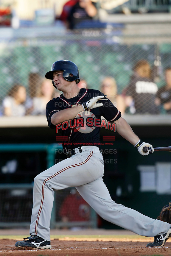 May 31 2009: Matt Repec of the Modesto Nuts during game against the Lancaster JetHawks at Clear Channel Stadium in Lancaster,CA.  Photo by Larry Goren/Four Seam Images