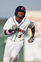 May 9, 2010: Jay Austin of the Lancaster JetHawks during game against the Inland Empire 66'ers at Clear Channel Stadium in Lancaster,CA.  Photo by Larry Goren/Four Seam Images