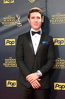 BURBANK - APR 26: Kristos Andrews at the 42nd Daytime Emmy Awards Gala at Warner Bros. Studio on April 26, 2015 in Burbank, California