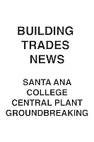 Building Trades News S.A. College Central Plant Groundbreaking