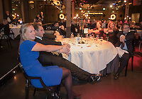 Amsterdam, Netherlands, December 12, 2016, Harbour Club, Tennisser van het Jaar,  Kiki Bertens<br /> Photo: Tennisimages/Henk Koster
