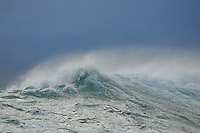 Wave crest, False Bay, South Africa.