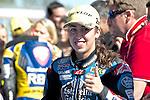jerez. espa&ntilde;a. motociclismo<br /> primera carrera del CEV en jerez.Moto 3<br /> 06-04-14<br /> En la imagen :<br /> Maria Herrera<br /> photocall3000 / rme