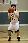 Photograph from the 2010-11 Mt. Rainier Lutheran High School boy's basketball season.