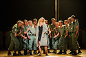 London, UK. 18.05.2015. English National Opera presents CARMEN, by Georges Bizet, directed by Calixto Bieito, conducted by Sir Richard Armstrong. Mezzo-soprano Justina Gringyte makes her debut in the title role. Photograph © Jane Hobson.