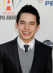 WESTWOOD, CA. - September 17: Singer David Archuleta arrives at the 2009 ALMA Awards held at Royce Hall on the UCLA Campus on September 17, 2009 in Los Angeles, California.
