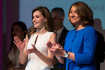 Queen Letizia of Spain attends to 2017 National Fashion Awards at Museo del Traje in Madrid, July 17, 2017. Spain.<br /> (ALTERPHOTOS/BorjaB.Hojas)