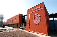 The Academie Robert Louis-Dreyfus training complex from the Royal Standard de Liège football club (Belgium, 16/03/2012)