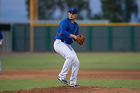 AZL Cubs 2 relief pitcher Jack Patterson (38) delivers a pitch during an Arizona League game against the AZL White Sox at Sloan Park on July 13, 2018 in Mesa, Arizona. The AZL Cubs 2 defeated the AZL White Sox 6-4. (Zachary Lucy/Four Seam Images)
