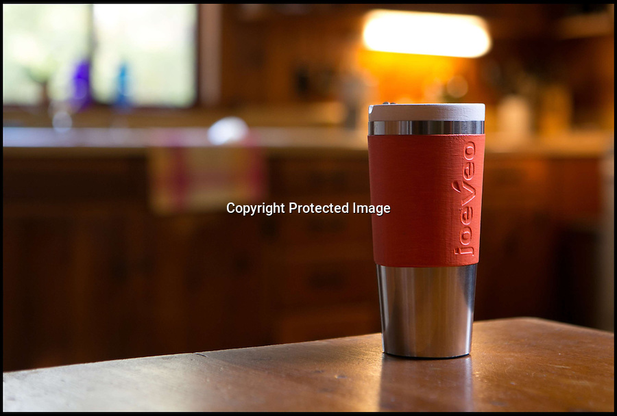 BNPS.co.uk (01202 558833)<br /> Picture: BethJarvah/BNPS<br /> <br /> ****Please use full byline****<br /> <br /> Burning your mouth on hot drinks could be a thing of the past after an inventor launched a mug that keeps coffee and tea at a perfect temperature.<br /> <br /> The gadget designed by Dean Verhoeven, has been created with a special layer of insulating material inside that draws away any excess heat from boiling hot drinks.<br /> <br /> The clever container then uses this heat to keep the temperature at a comfortable level for up to three hours.<br /> <br /> It is maintained at a temperature of 55C, which enables someone to sip their drink without scalding themselves.<br /> <br /> The Temperfect Mug is expected to go on sale for around £20 in July next year.