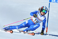 February 16, 2017: Manuela MOELGG (ITA) competing in the women's giant slalom event at the FIS Alpine World Ski Championships at St Moritz, Switzerland. Photo Sydney Low