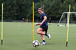 CARY, NC - JULY 27: Kat McDonald. The North Carolina Courage held a training session on July 27, 2017, at WakeMed Soccer Park Field 7 in Cary, NC.