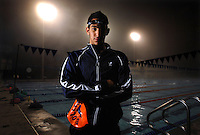 The Bolles School senior swimmer Jowan Qupty is pictured at Uible Pool on campus in Jacksonville, Fl. (The Florida Times-Union, Rick Wilson)