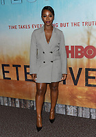 "10 January 2019 - Hollywood, California - Deborah Ayorinde. ""True Detective"" third season premiere held at Directors Guild of America. Photo Credit: Birdie Thompson/AdMedia"