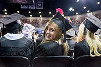 2017 MSU Spring Graduation at Humphrey Coliseum.<br />  (photo by Sarah Dutton / &copy; Mississippi State University)