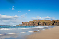 Scenic Dalmore beach, Isle of Lewis, Scotland
