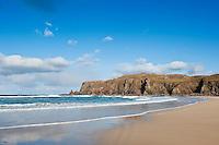 Scenic Dalmore beach, Isle of Lewis, Scotland