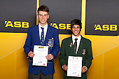 Boys Golf finalists James Eng and Jason Gulasekharam. ASB College Sport Young Sportsperson of the Year Awards held at Eden Park, Auckland, on November 24th 2011.