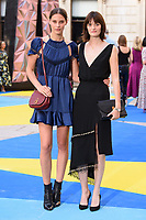 Charlotte Wiggins &amp; Sam Rollison arriving for the Royal Academy of Arts Summer Exhibition 2018 opening party, London, UK. <br /> 06 June  2018<br /> Picture: Steve Vas/Featureflash/SilverHub 0208 004 5359 sales@silverhubmedia.com