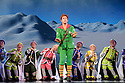 ELF THE MUSICAL opens at the Dominion Theatre, Tottenham Court Road. Picture shows: Ben Forster (Buddy),   and ensemble