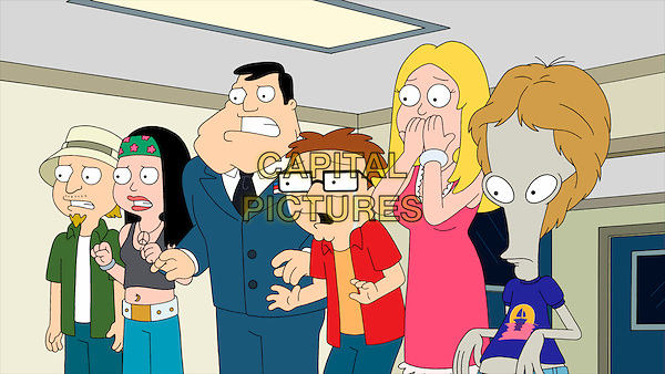 American Dad! (2005 - )<br /> (Season 7)<br /> Steve's (Scott Grimes) new puppy suffers an accident.<br /> *Filmstill - Editorial Use Only*<br /> CAP/KFS<br /> Image supplied by Capital Pictures