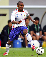 Florent Malouda of France. The Korea Republic and France played to a 1-1 tie in their FIFA World Cup Group G match at the Zentralstadion, Leipzig, Germany, June 18, 2006.