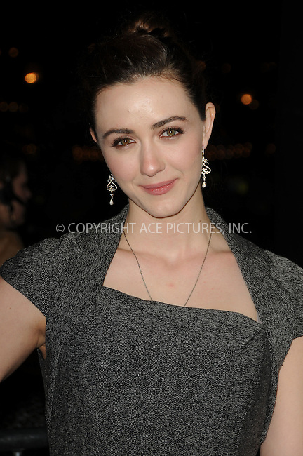 WWW.ACEPIXS.COM . . . . . ....February 1 2011, Los Angeles....Actress Madeline Zima arriving at the Los Angeles Premiere of 'Waiting For Forever' at the Pacific Theatres at The Grove on February 1, 2011 in Los Angeles, CA ....Please byline: PETER WEST - ACEPIXS.COM....Ace Pictures, Inc:  ..(212) 243-8787 or (646) 679 0430..e-mail: picturedesk@acepixs.com..web: http://www.acepixs.com
