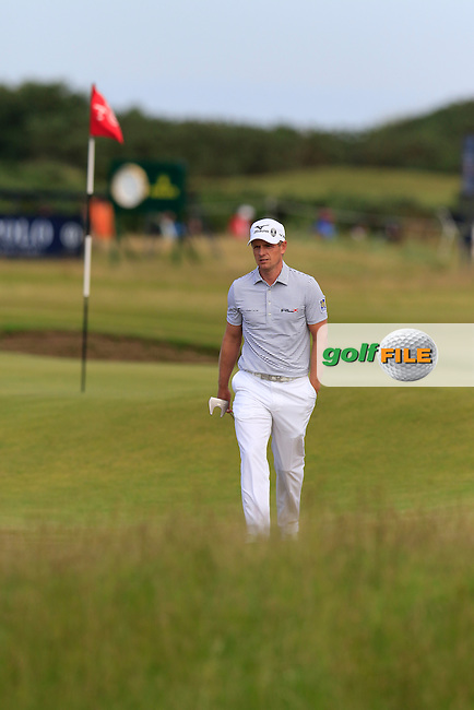 Luke Donald (ENG) on the 14th green during Sunday's Round 3 of the 144th Open Championship, St Andrews Old Course, St Andrews, Fife, Scotland. 19/07/2015.<br /> Picture Eoin Clarke, www.golffile.ie