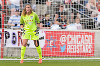 Bridgeview, IL - Saturday June 18, 2016: Alyssa Naeher during a regular season National Women's Soccer League (NWSL) match between the Chicago Red Stars and the Boston Breakers at Toyota Park.