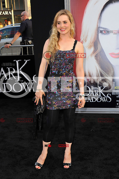 Alison Lohman at the premiere of Warner Bros. Pictures' 'Dark Shadows' at Grauman's Chinese Theatre on May 7, 2012 in Hollywood, California. ©mpi35/MediaPunch Inc.