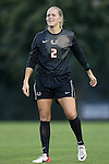 12 September 2013: Miami's Emily Lillard. The Duke University Blue Devils hosted the University of Miami Hurricanes at Koskinen Stadium in Durham, NC in a 2013 NCAA Division I Women's Soccer match. Duke won the game 3-0.
