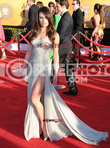 LOS ANGELES, CA - JANUARY 29: Maria Menounos arrives at the 18th Annual Screen Actors Guild Awards held at The Shrine Auditorium on January 29, 2012 in Los Angeles, California.