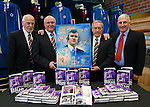 Jock Wallace book launch at Rangers magastore. Ex Rangers players Colin Jackson, Colin Stein, Willie Johnston and Jim Denny