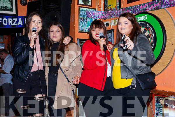 Celebrating Womens Little Christmas in the Huddle bar on Saturday night last.