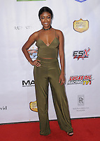 """06 February 2017 - Hollywood, California - Javicia Leslie. """"Running Wild"""" Los Angeles Premiere held at the TCL Chinese 6 Theater. Photo Credit: Birdie Thompson/AdMedia"""
