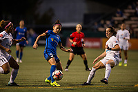 Seattle, WA - Sunday, September 24th, 2017: Nahomi Kawasumi during a regular season National Women's Soccer League (NWSL) match between the Seattle Reign FC and FC Kansas City at Memorial Stadium.
