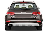 Straight rear view of a 2011 Audi A4 Allroad Quattro 2.0l TDI 5 Door Wagon
